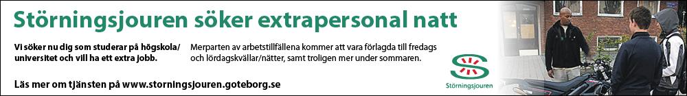Störningsjouren i Göteborg söker folk!