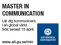 GU - Master in communication